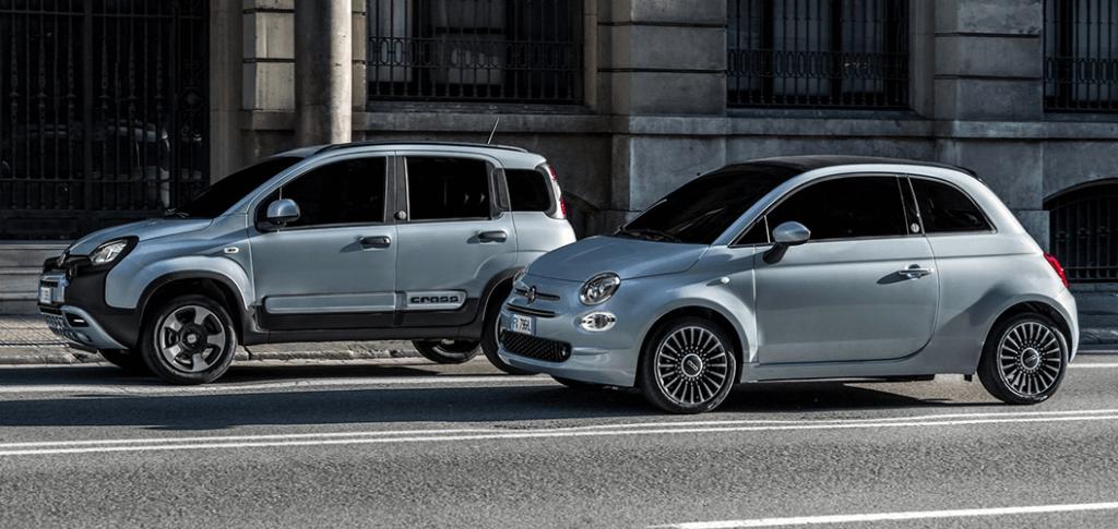 Fiat 500 en Fiat Panda Hybrid - Arnold de Rijk